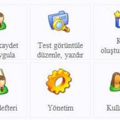 Gelişim Testi Programı Ekran Görüntüleri